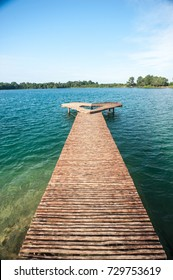 Blue Lake at Bintan Island