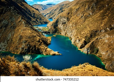 blue lake huancaya