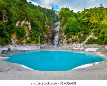 Blue Lake in Rotorua