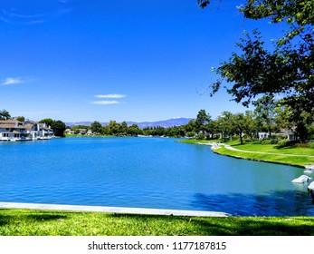 Blue Lake in Suburbia