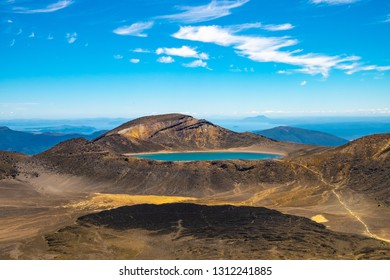 Blue Lake, Tongariro Alpine Crossing, North Island New Zealand