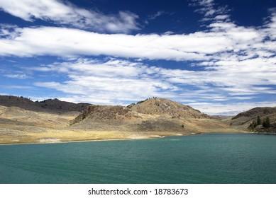 Blue Lake Waters - Oroville, Washington