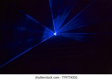 Blue laser lights