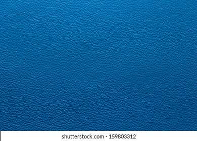 Blue leather in detail with texture/structure