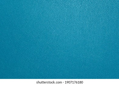 Blue leather skin texture background