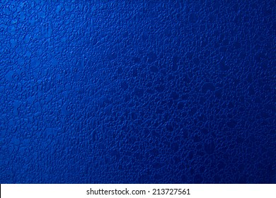 blue leather texture as background