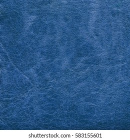 blue leather texture as background for design-works