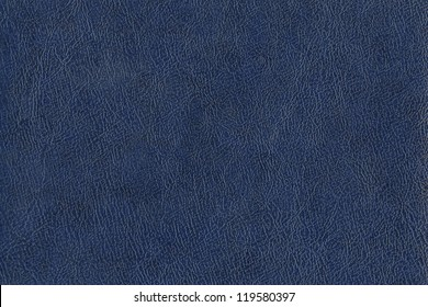 blue leather texture closeup. Useful as background for design-works