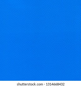 Blue leather textured background. Vintage fashion background for designers and composing collages. Luxury textured genuine leather of high quality.