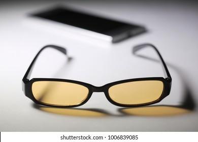Blue Light Reduced glasses