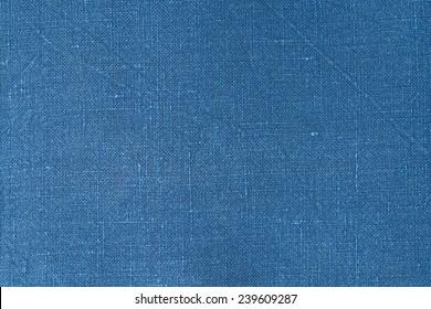 blue linen background