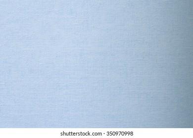blue linen textile - close up of fashion background