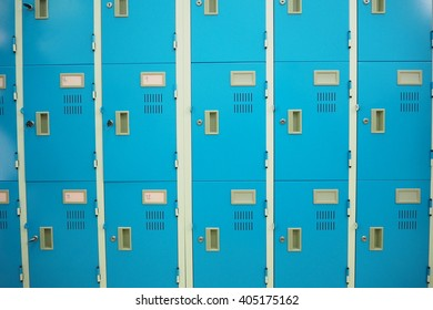 blue locker