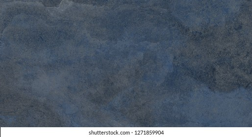 Blue marble texture in natural pattern with high resolution for background and design art work. Blue stone floor. Rustic blue granite