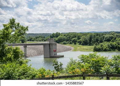 Blue Marsh Dam, June 21, 2019  managed by the U.S. Army Corps of Engineers, is an earth fill dam in Bern Township, Berks County, Pennsylvania, USA