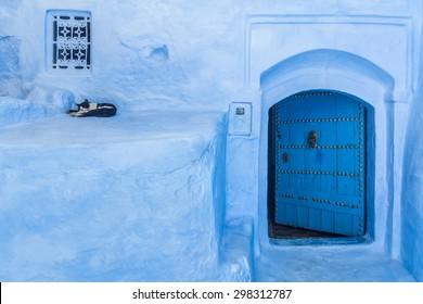 The blue medina of Chefchaouen, Morocco