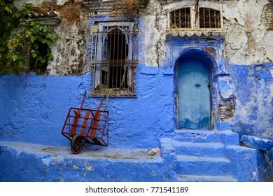 The blue Medina of Chefchaouen, Morocco.