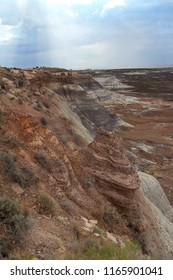Blue Mesa region of Petrified Forest  National Park,