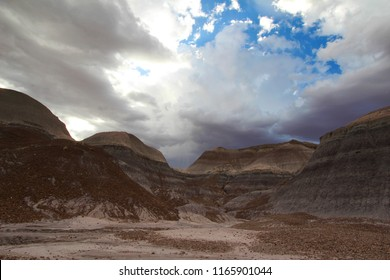 Blue Mesa region of Petrified Forest  National Park