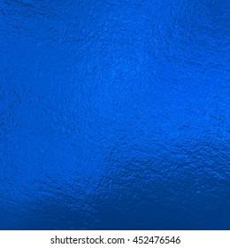 Blue metallic Foil