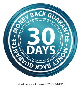 30 day money back guarantee stock images royalty free images vectors shutterstock. Black Bedroom Furniture Sets. Home Design Ideas