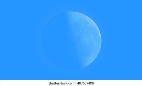 Blue moon daylight equinox spring