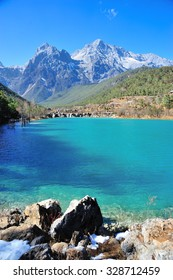 Blue Moon Valley in Yulong Snow Mountain