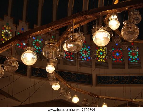 Blue Mosque Interior, Jordan.