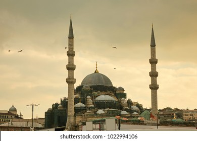 Blue mosque in Istanbul Turkey - architecture religion