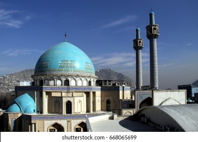 Blue Mosque in Kabul - Afghanistan