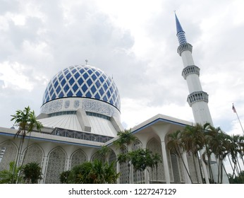 Blue Mosque in Malaysia (Shah Alam)