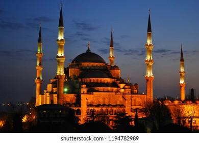 Blue Mosque (Sultanahmet Cami), Istanbul, Turkey