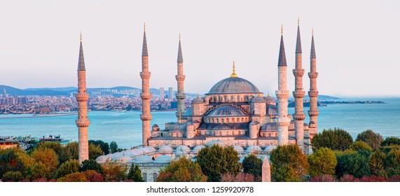 The Blue Mosque (Sultanahmet) - istanbul, Turkey