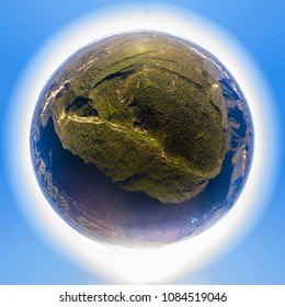 Blue Mountains Little planet looking liek Gondwana land
