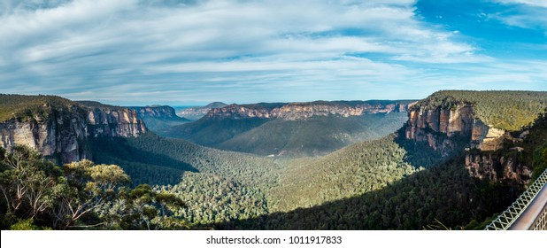blue mountains national park forest amazing