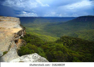 The Blue Mountains in New South Wales, Australia