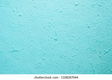 Blue mulberry paper texture used for a wallpaper background