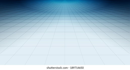 Blue net glossy floor - beautiful background