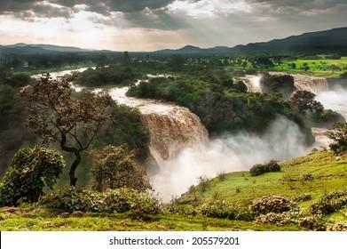 Blue Nile Fals, Ethiopia