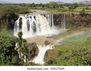 Blue Nile waterfalls, Bahar Dar, Ethiopia, Africa
