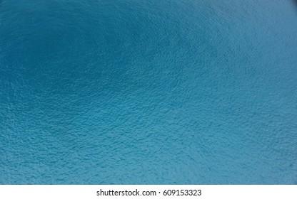 Blue ocean surface