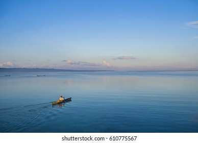 Blue Ocean of Wakatobi Indonesia