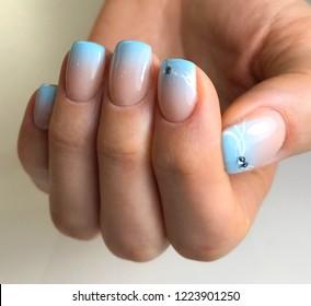 Imágenes, fotos de stock y vectores sobre Ombre Manicure