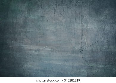 blue painting background or texture