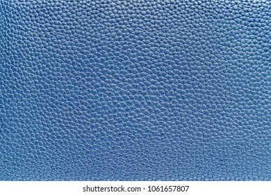 blue pale background of abstract corrugated texture leather material