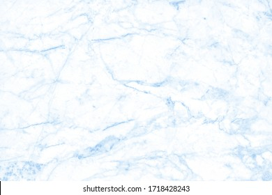 Blue pastel marble texture background with high resolution in seamless pattern for design art work and interior or exterior.