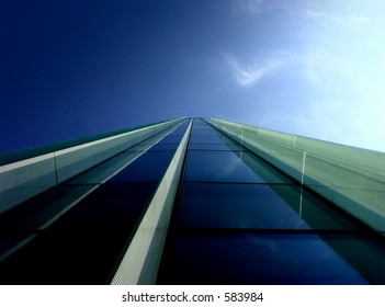 Blue perspective