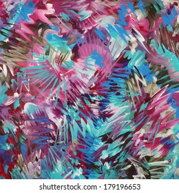 Blue Pink Brown Abstract Background