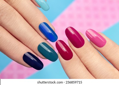 Gel Nails Images Stock Photos Vectors Shutterstock