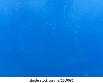 Blue plastic surface texture background